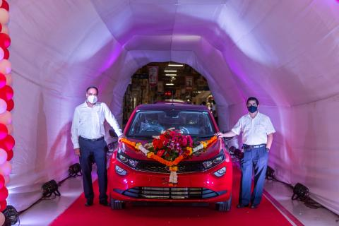 Tata's passenger car production crosses 4 million mark