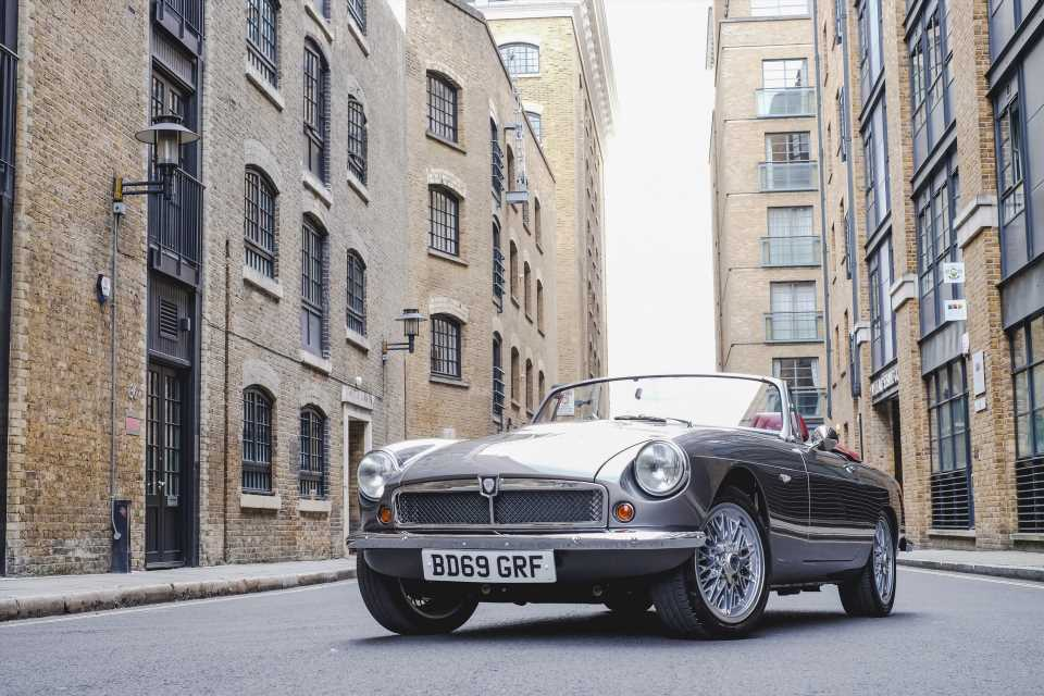 The RBW Classic Roadster Is An Electric MGB With A Six-Figure Price Tag