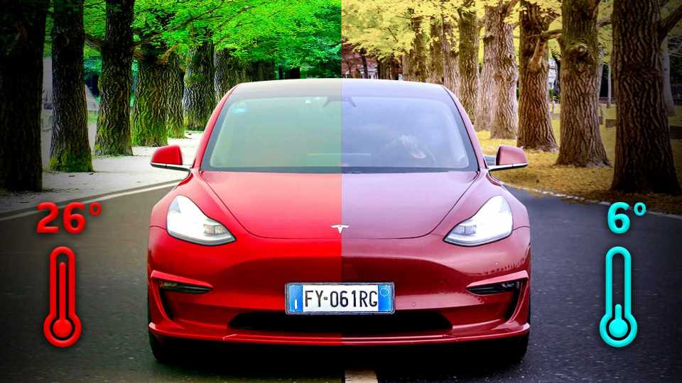 Tesla Model 3: Here's How The Range Changes In Hot And Cold Weather
