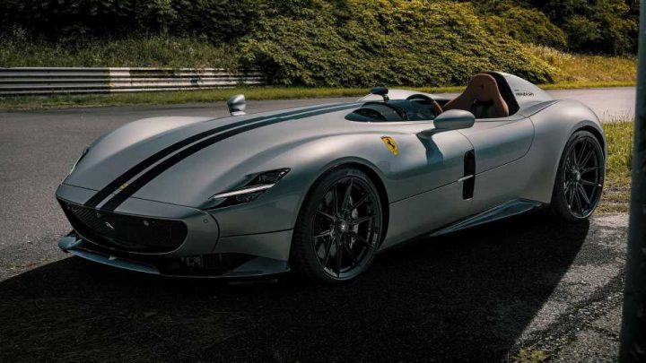 Ferrari Monza SP1 By Novitec Gives The One-Seater 833 Horsepower