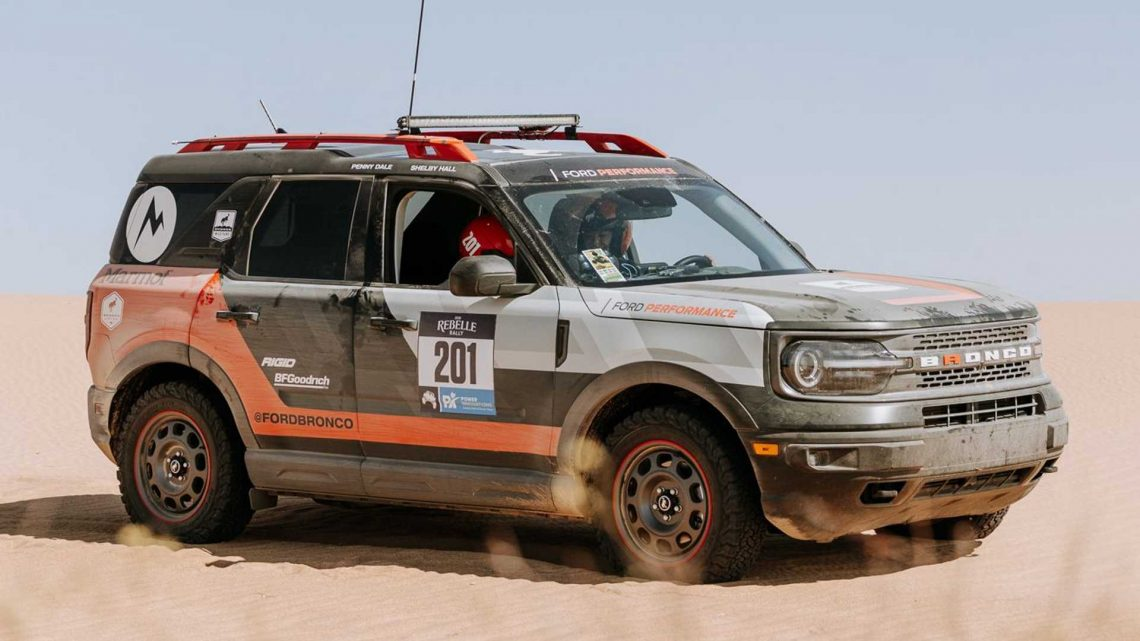 Stock Ford Bronco Sport Wins Its Class At Rebelle Off-Road Rally