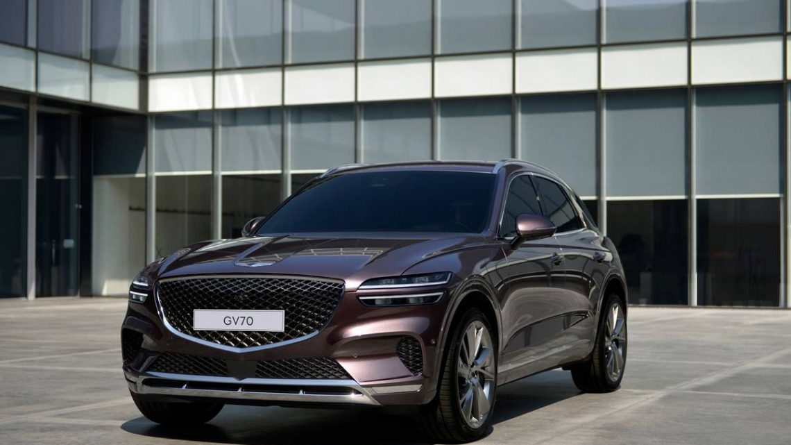 Genesis GV70 Reveal Is First Look at Its BMW X3, Audi Q5 Competitor
