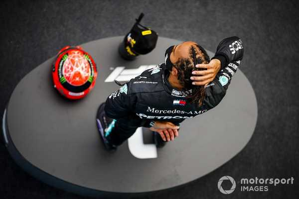 "F1 news: Hamilton ""humbled"" by Schumacher's family's gift"