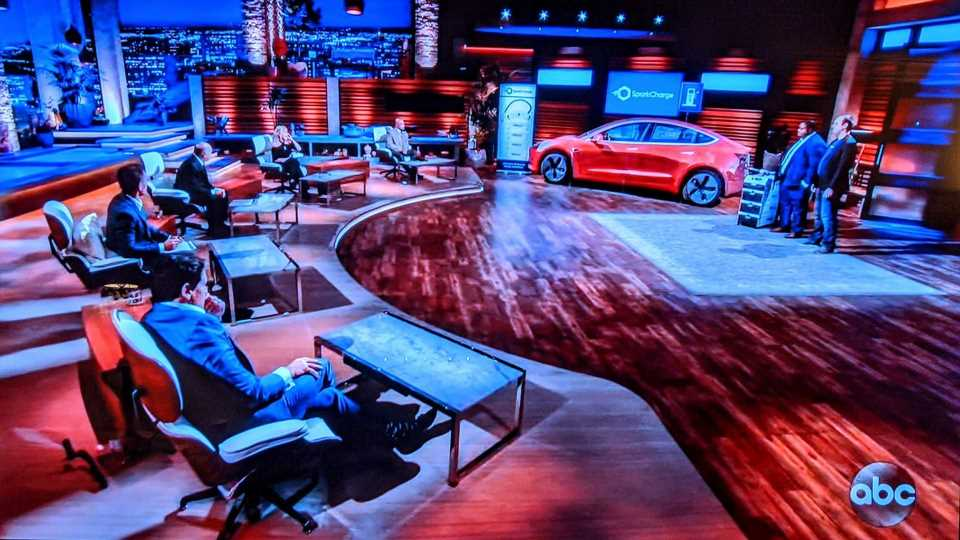 SparkCharge Strikes Million Dollar Deal On Shark Tank For Roadie Portable EV Charger