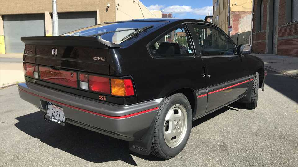 What Do You Want to Know About the 1985 Honda CR-X Si?