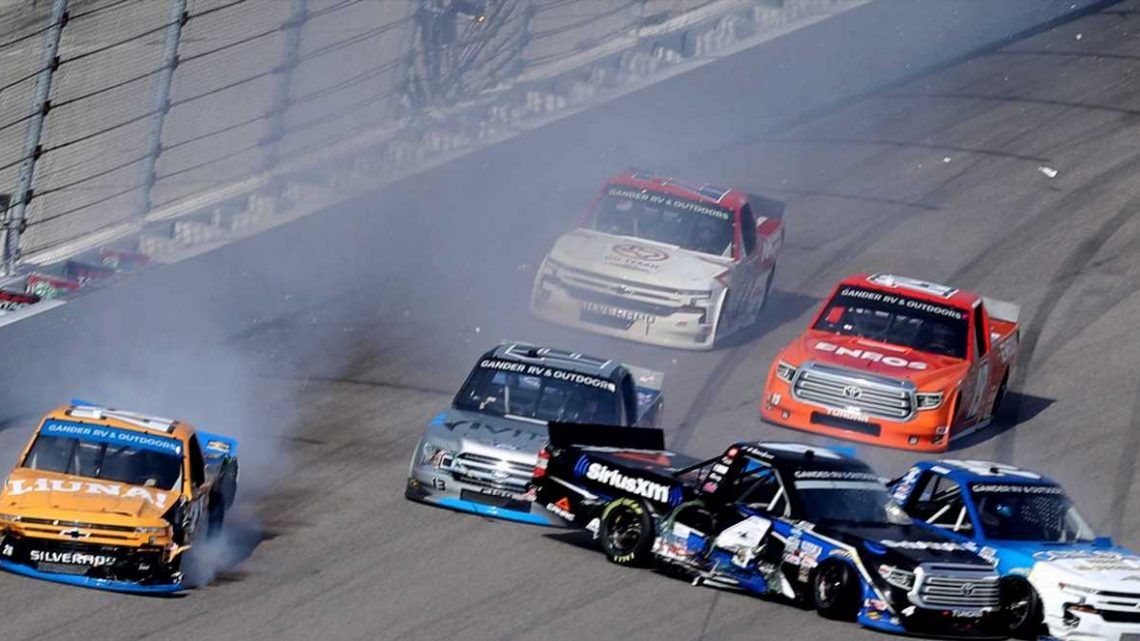 Late Spin Decides First NASCAR Trucks Championship Race Participant