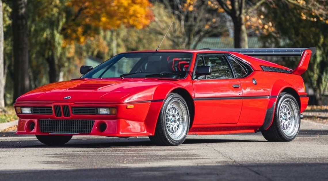 A BMW M1 With An Official Procar Bodykit Is About To Be Auctioned