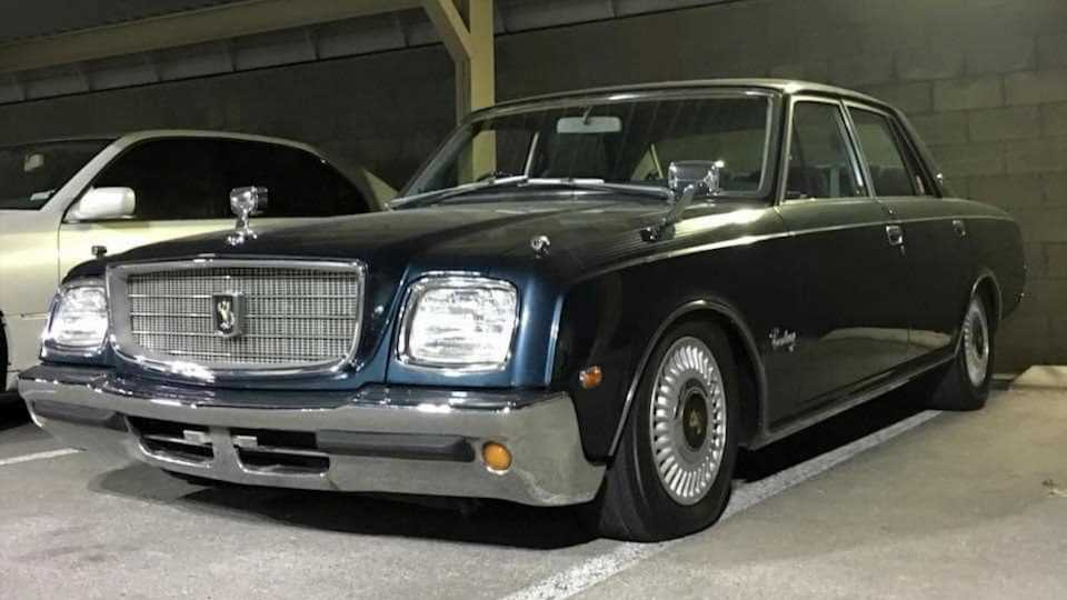 Camouflage Your Cash with This Beautifully Understated Toyota Century V12