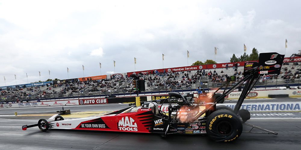 Hard-Luck Doug Kalitta 'Just Ran the Wrong Guy' in Latest NHRA Top Fuel Disappointment