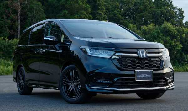 2020 Honda Odyssey facelift with Modulo accessories – paultan.org