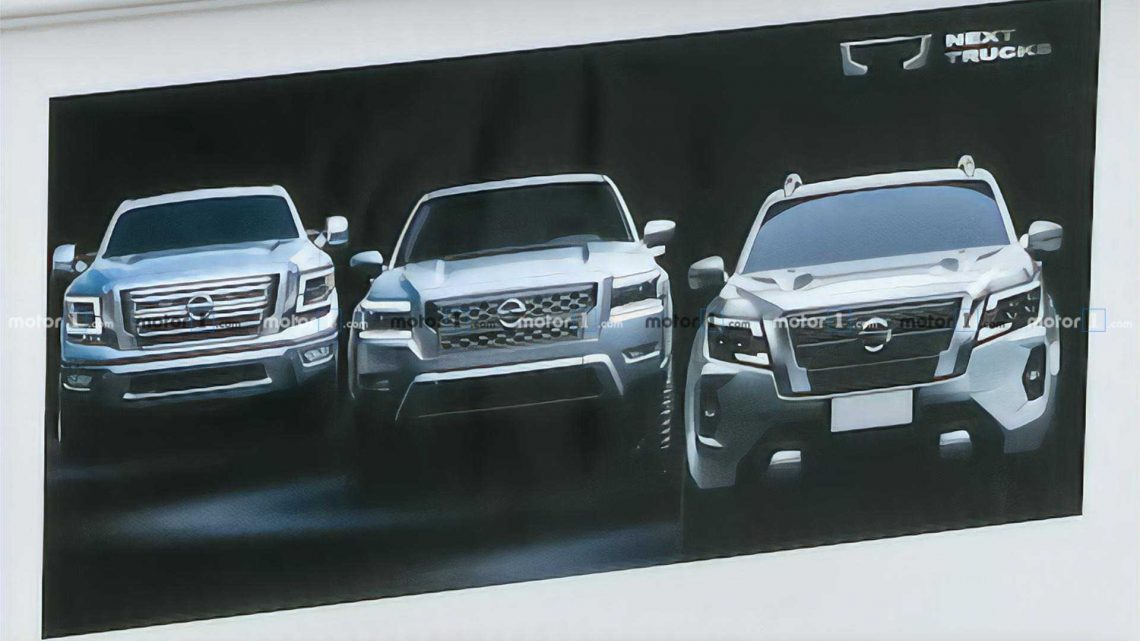2021 Nissan Frontier For US Makes Sneak Appearance In 2021 Navara Video?