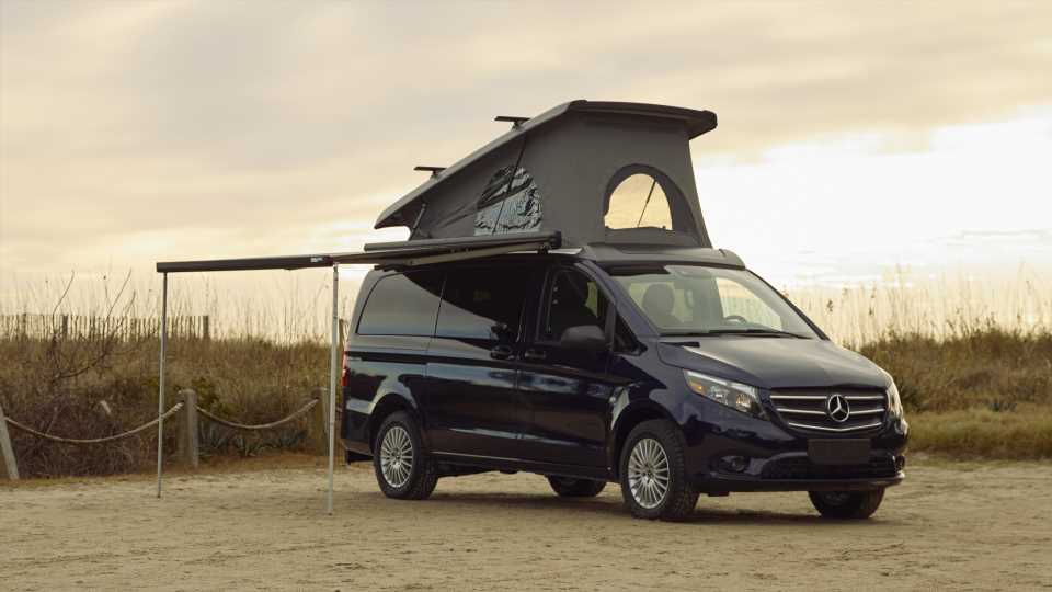 You Can Now Buy a Rad Metris-Based Euro-Style Camper Van at Mercedes-Benz Dealerships