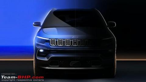 Jeep Compass facelift teaser images out ahead of unveil