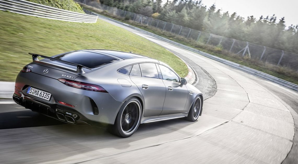 The Mercedes-AMG GT 4 Door Just Nabbed A Niche 'Ring Record From The Porsche Panamera