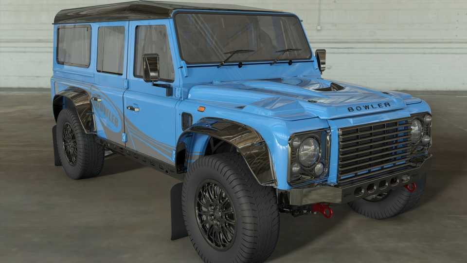 Classic Land Rover Defender 110 Is Reborn as 566-HP, Supercharged-V8 Bowler
