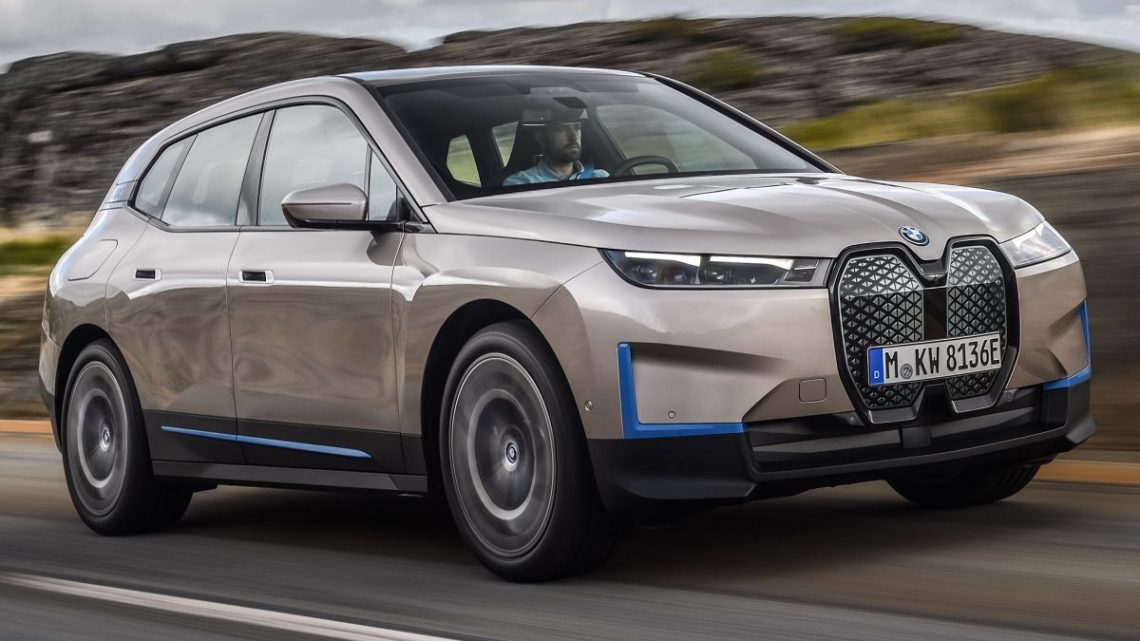 BMW iX revealed – iNEXT electric SUV gets a name and more than 500 PS, 600 km range; coming late-2021 – paultan.org