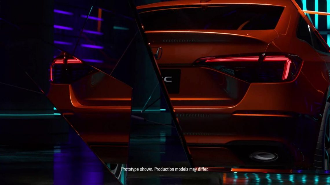 Eleventh-generation Honda Civic prototype gets teased – official debut to take place on November 17 – paultan.org