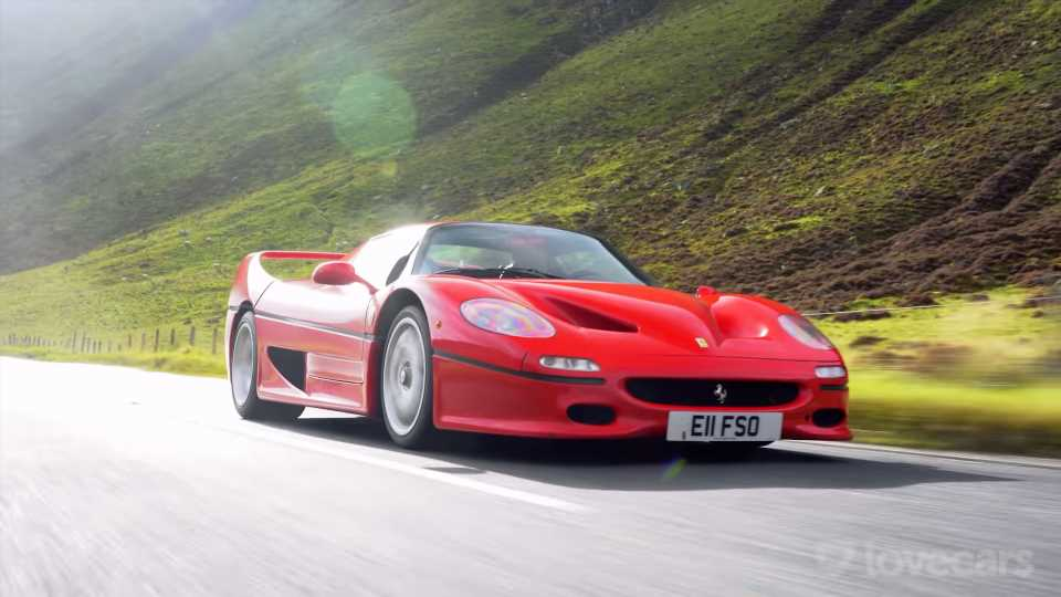 The Magnificent-Sounding V12 Ferrari F50 Is Still the Ultimate Supercar at 25