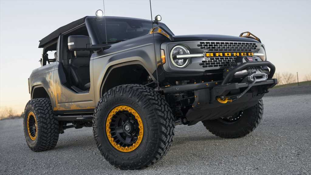 Ford Bronco Badlands Sasquatch Concept: 'Squatching Your Off-Road Itch