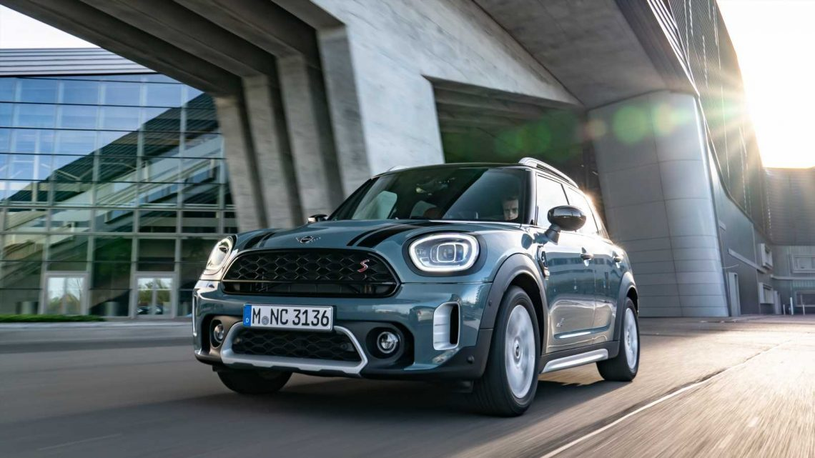 MINI Countryman production set to move to Germany in 2023