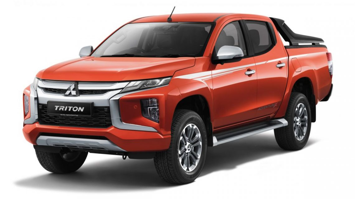 Mitsubishi Triton Adventure X – striking Sun Flare Orange Pearl added to range of exterior colours – paultan.org