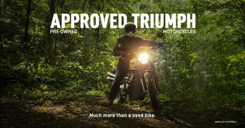 Triumph launches pre-owned motorcycle business