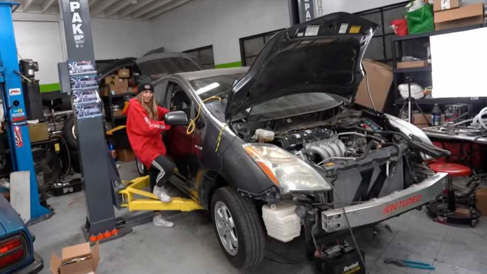 Even a Toyota Prius Gets Serious After a Honda K-Series and Manual Swap