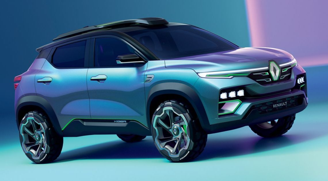 Renault Kiger concept revealed – previews new sub-four-metre compact SUV; India launch in Q1 2021 – paultan.org