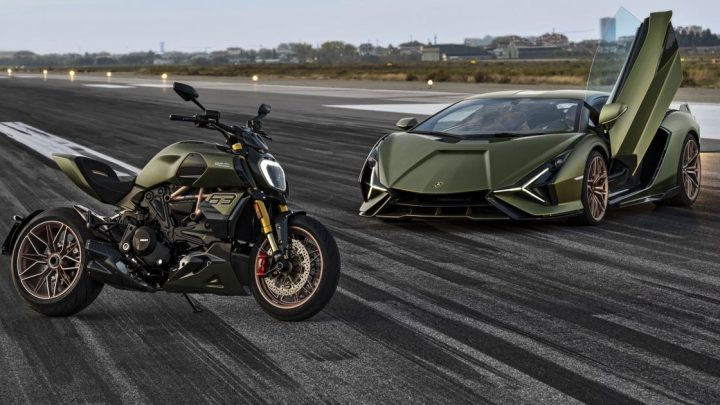 The Ducati Diavel 1260 Lamborghini Is A Siàn-Inspired Special