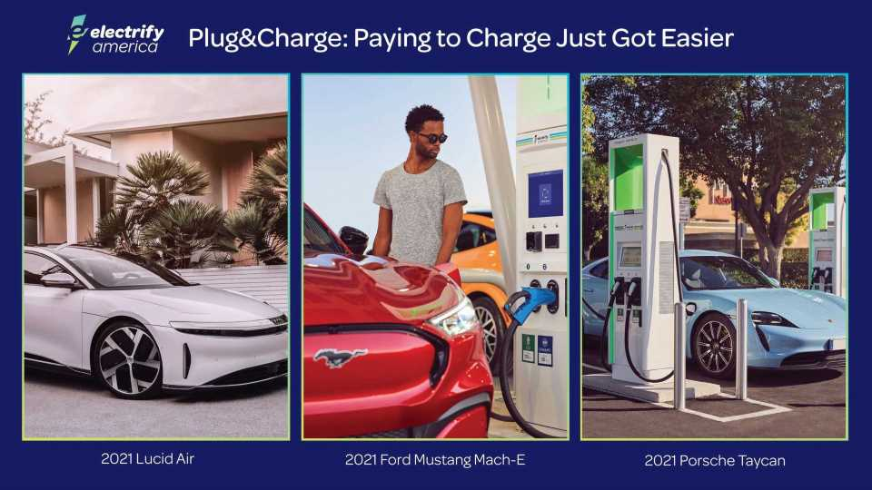 Electrify America Launches Plug&Charge Payment Technology