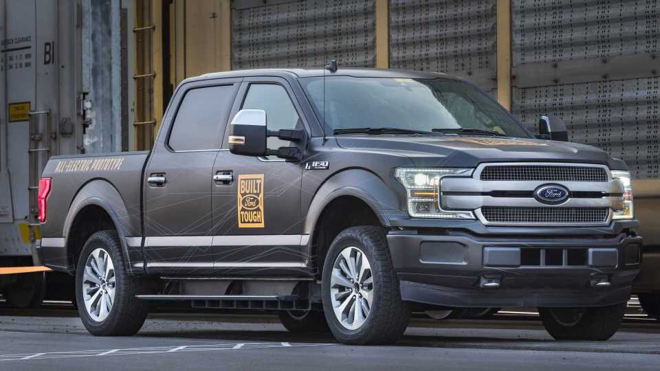 Ford Boosts F-150 EV Production By 50 Percent Due To Strong Interest