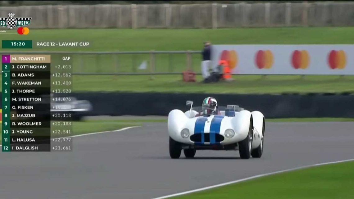 Watch 20 Minutes Of the Lavant Cup at Goodwood