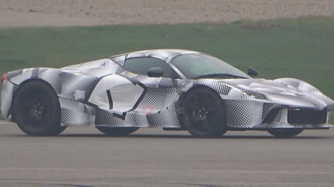 Spend 8 Minutes With Ferrari While It Tests Its Future V12 Hypercar
