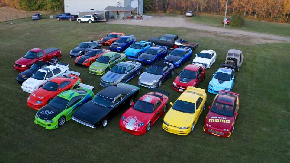 Epic Fast And Furious Car Collection Hides In A Rural Canadian Field
