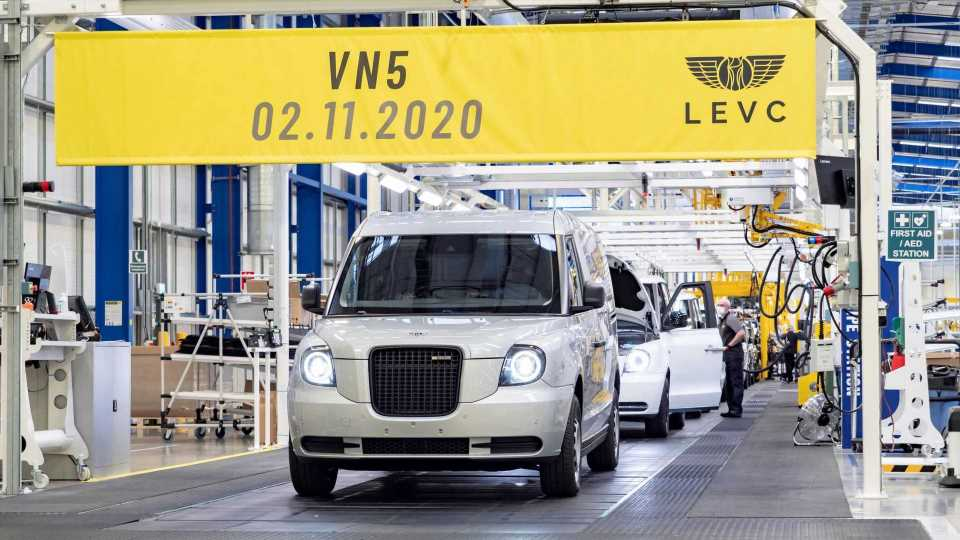 UK: LEVC VN5 Plug-In Van Entered Production