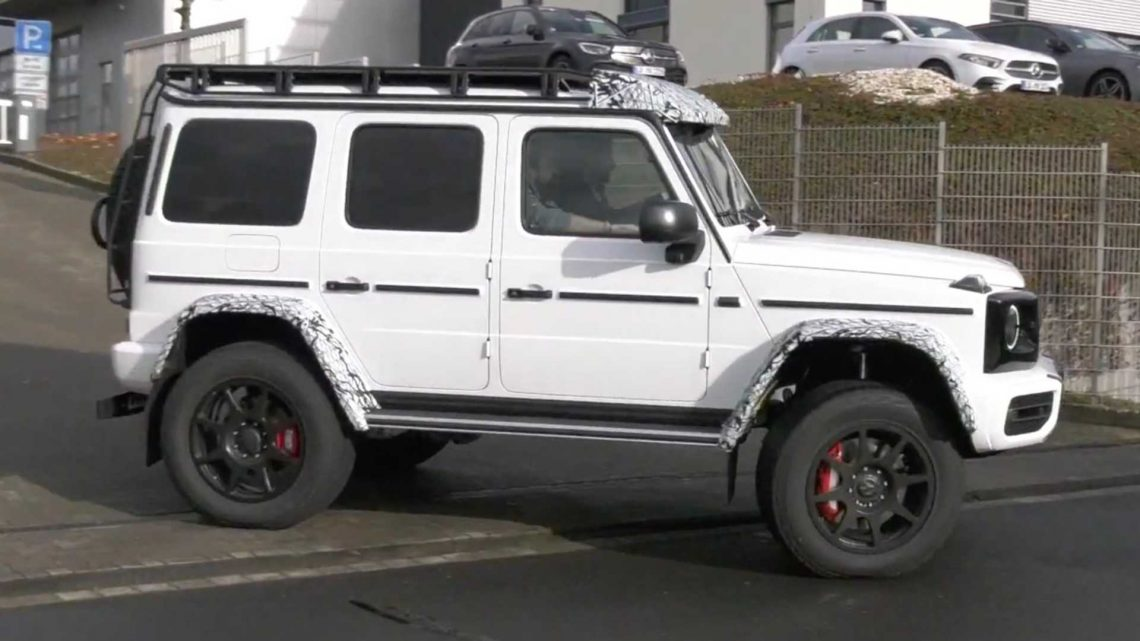 Mercedes-AMG G-Class 4X4 Squared Looks Out Of Place At The Nurburgring