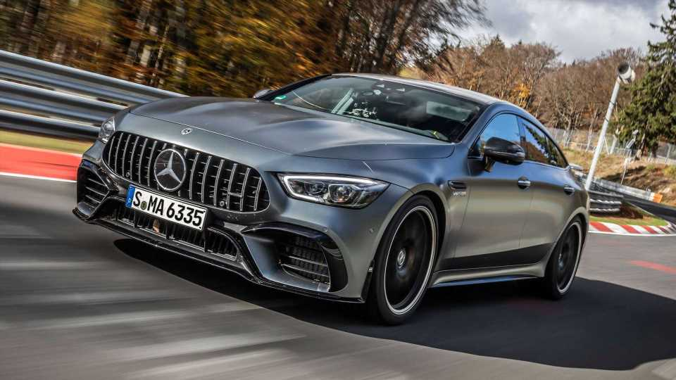 Watch 2021 Mercedes-AMG GT 63 S Set New Nurburgring Class Record