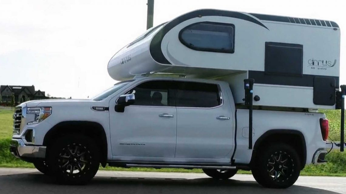 NuCamp Teases All-New Cirrus 620 Truck Camper For Half-Ton Pickups