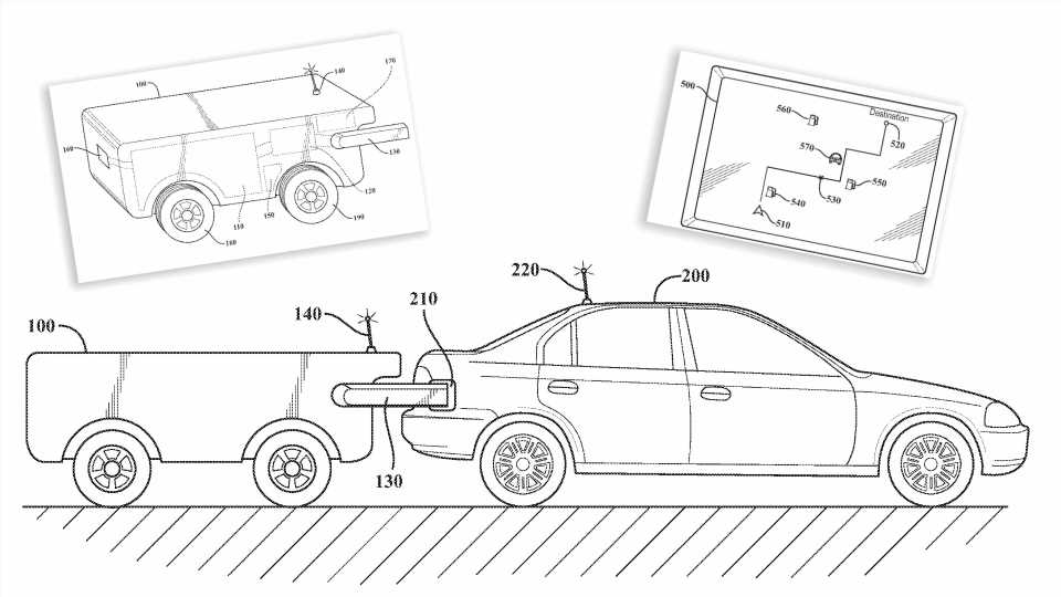 Toyota Patent Shows Self-Driving Drone Tankers for Car-to-Car Recharging and Refueling