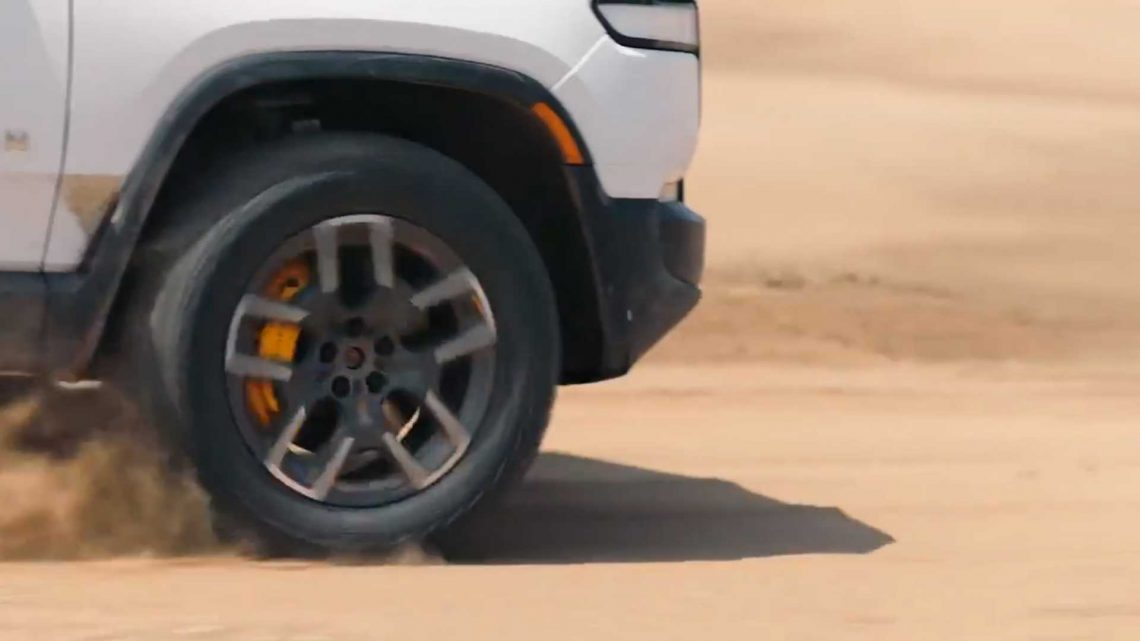 Pirelli And Rivian Develop Special RIV Elect Tires For R1T And R1S