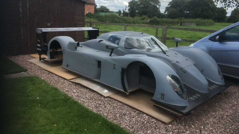 Racing Diehard Is Building His Own Le Mans-Winning Bentley Speed 8 Prototype In His Garage