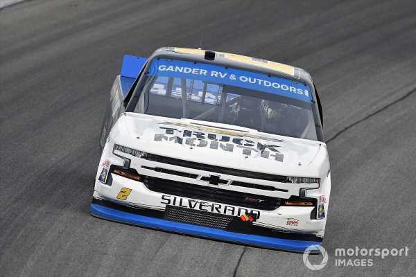 Sheldon Creed wins Truck finale and title in wild OT finish