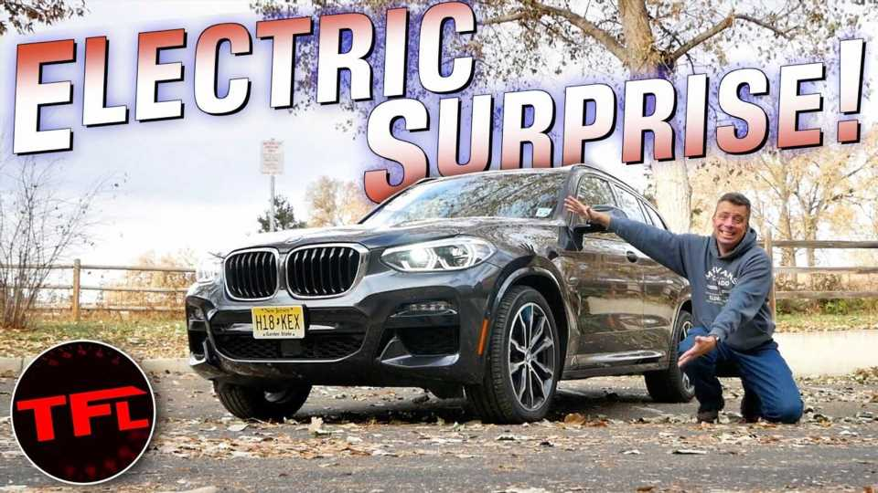 Reviewer Maxed Out BMW X3 30e Plug-In Hybrid's Pure Electric Range