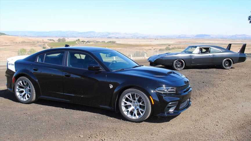 2020 Dodge Charger Daytona vs. '69 Charger Daytona: What's in a Name?