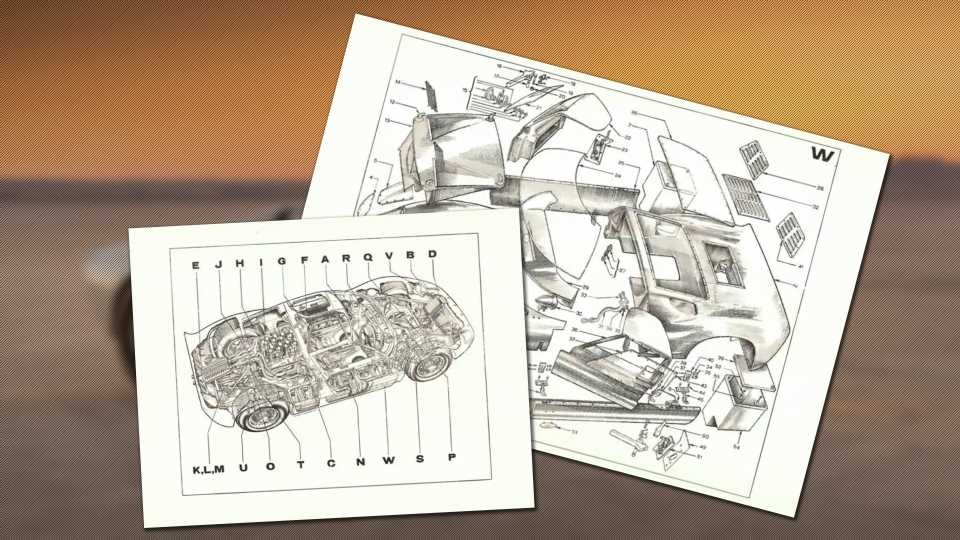 These Never-Released Ford GT40 Development Docs Are Worth Geeking Out Over