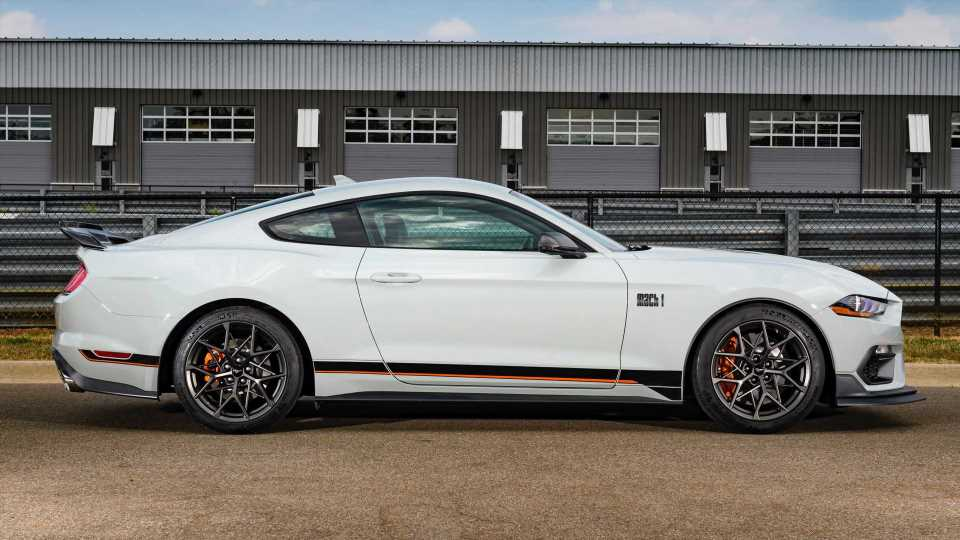 2021 Ford Mustang Mach 1 Wheels Are Inspired By A Bird's Nest