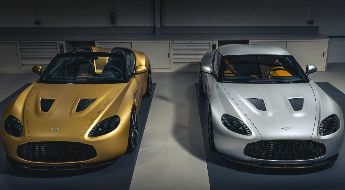 Aston Martin V12 Zagato Heritage Twins by R-Reforged – first units revealed, part of private Zagato collection – paultan.org