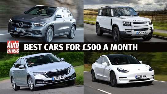 Best new cars for under £500 per month