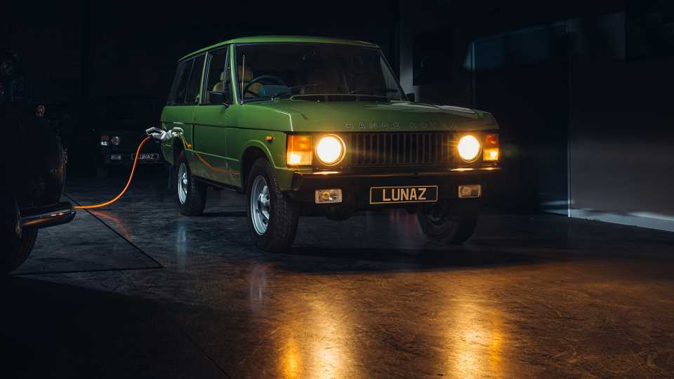 Lunaz Is Building 50 Electric Classic Range Rover Restomods for $322,000