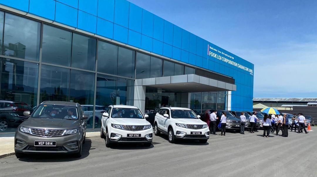 Proton hands over X70 fleet to MOH for use in Sabah – paultan.org